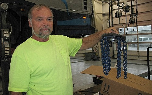 Bus Tire Chains
